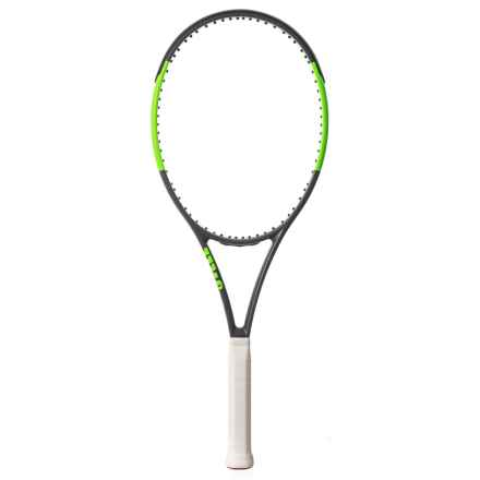 Wilson Blade Team 99 Tennis Racquet in See Photo - Closeouts