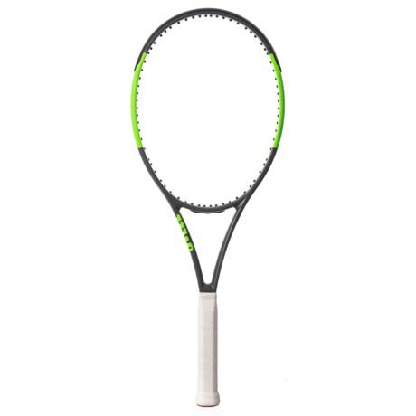 Wilson Blade Team 99 Tennis Racquet in See Photo