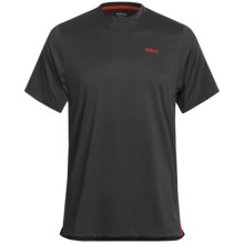 Wilson Body Mapping Shirt - UPF 30+, Short Sleeve (For Men) in Black - Closeouts