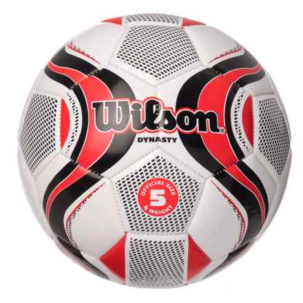 Wilson Dynasty Soccer Ball - Size 5 in See Photo - Closeouts