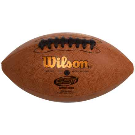 Wilson GST Junior Football in Leather - Closeouts