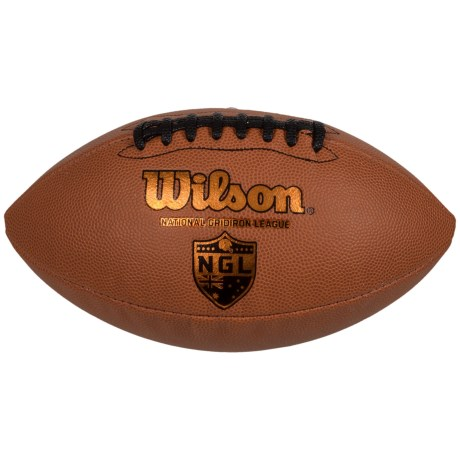 Wilson GST Official Football in Leather