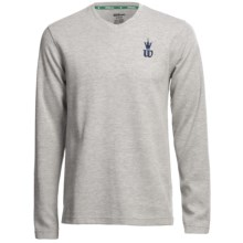 Wilson Hall Fame Shirt - Long Sleeve (For Men) in Grey/White - Closeouts