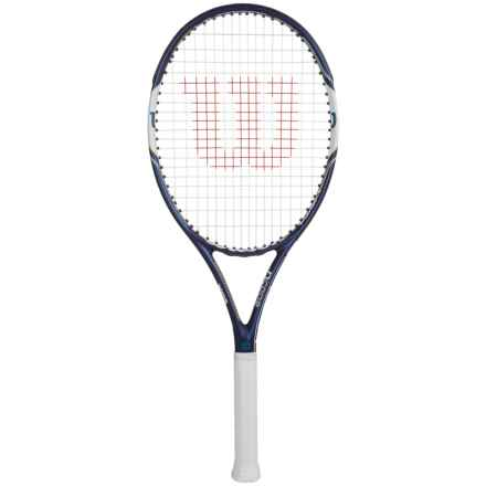 Wilson Hyperion Powerx 8 Tennis Racquet - 105 sq.in. in Blue/White - Closeouts