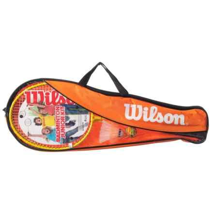 Wilson Junior Badminton Kit in See Photo - Closeouts