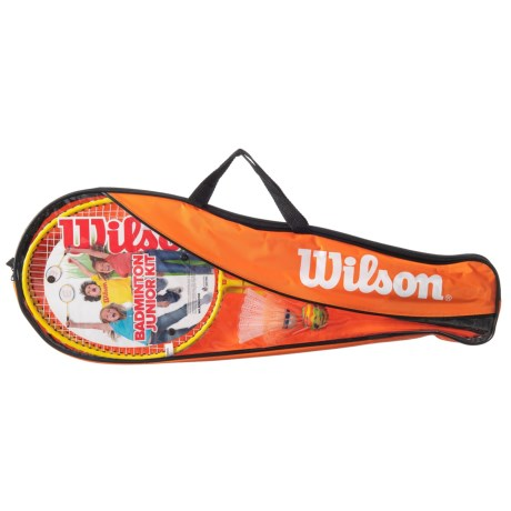 Wilson Junior Badminton Kit in See Photo
