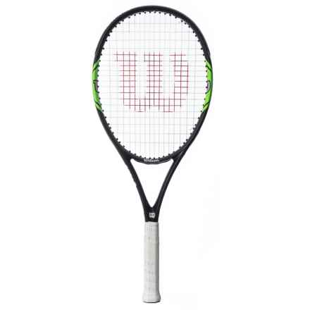 Wilson Monfils Lite 105 Tennis Racquet in See Photo - Closeouts