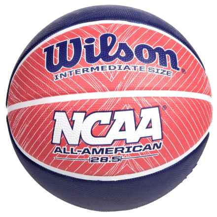 """Wilson NCAA All-American Basketball - 28.5"""" in Red/White/Blue - Closeouts"""