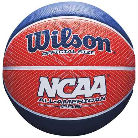 Wilson NCAA All American Basketball - Official Size in Red/White/Blue - Closeouts