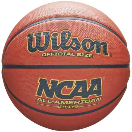 Wilson NCAA All American Basketball - Official Size in Tan - Closeouts
