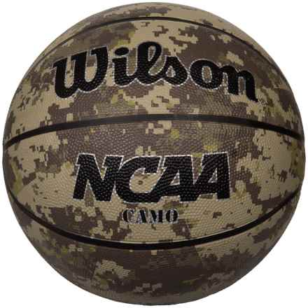 Wilson NCAA Camo Basketball - Official Size in See Photo - Closeouts