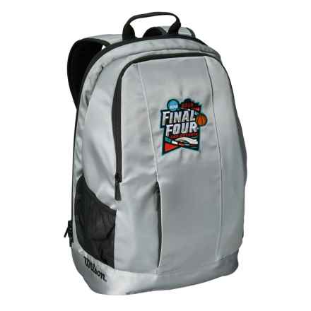 Wilson NCAA Men's Final Four Backpack in Gray - Closeouts