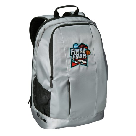 Wilson NCAA Men's Final Four Backpack in Gray