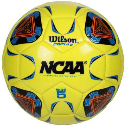 Wilson NCAA Replica Copia II Soccer Ball - Size 5 in Optic Green - Closeouts
