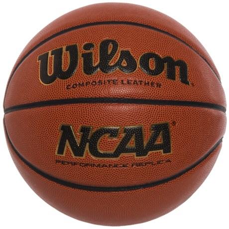 "Wilson NCAA Replica Game Ball Basketball - 29.5"", Official in See Photo"