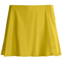 Wilson Performance Skort (For Women) in Union Gold - Closeouts
