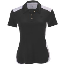 Wilson Polo Shirt - UPF 30+, Short Sleeve (For Women) in Black/White - Closeouts