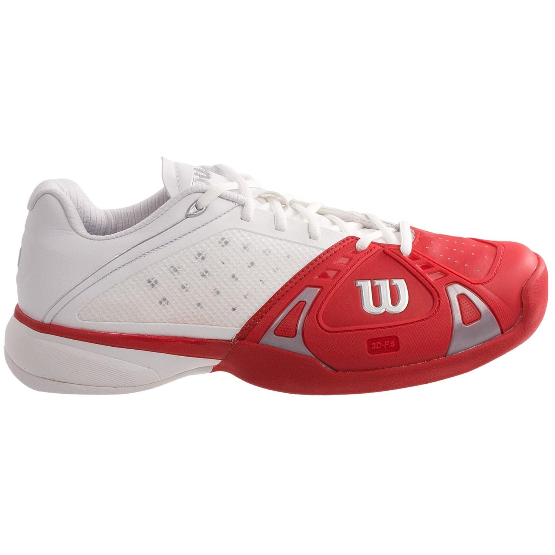 Low Heel Drop Tennis Shoes