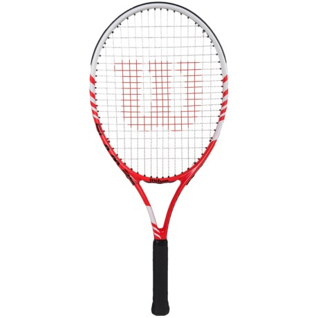 Wilson Slam 25 Tennis Racquet - 100 sq.in. (For Kids) in See Photo