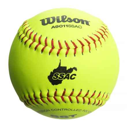 "Wilson SSAC NFSHSA 12"" Softballs - 12-Pack in See Photo - Closeouts"