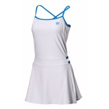 Wilson Sweet Spot Dress - UPF 30+, Built-In Shelf Bra, Spaghetti Straps (For Women) in White/Cyan - Closeouts