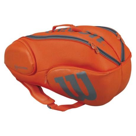 Wilson Vancouver 9 Backpack in Orange/Grey