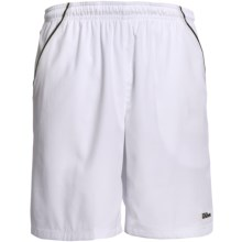 Wilson Woven Shorts - UPF 30+ (For Men) in White/Black - Closeouts