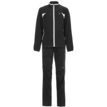 Wilson Woven Warm-Ups - UPF 30+, Two-Piece Set (For Women) in Black/Whtie - Closeouts