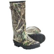 Winchester Camo Print Rubber Boots - Waterproof, Insulated (For Men) in True Timber - Closeouts