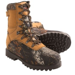 Winchester Tremont Hunting Boots- Waterproof, Insulated (For Men) in Mossy Oak Break-Up
