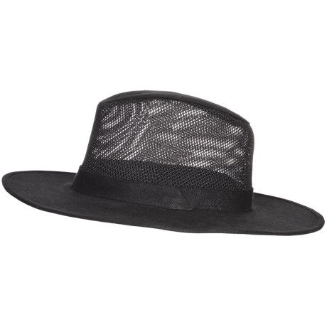 Wind River by Bailey Wade Hat - Mesh Crown (For Men and Women) in Black