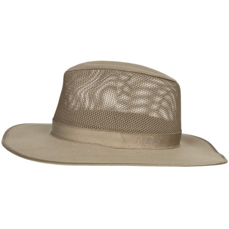 Wind River by Bailey Wade Hat - Mesh Crown (For Men and Women) in Khaki