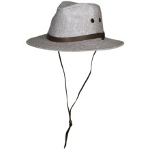 Wind River by Bailey Wilder Outback Hat - Pinch Crown (For Men and Women) in Brown - Closeouts