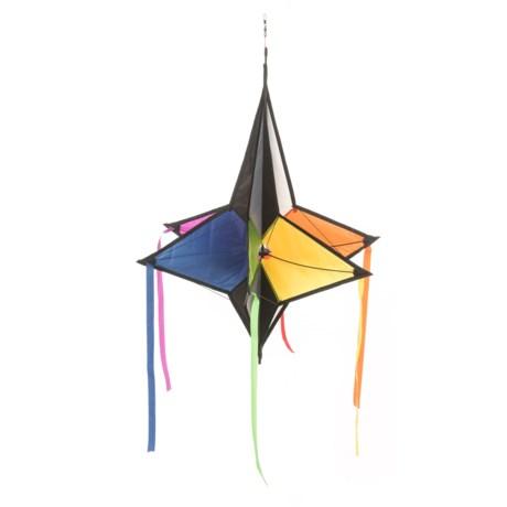 "Windspiration Jewel Hanging Wind Spinner - 20x26"" in Multi"