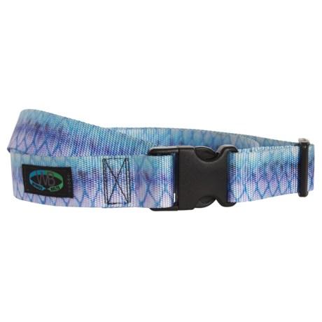 "Wingo Belts Wading Belt - Adjustable to 45"" in Tarpon"