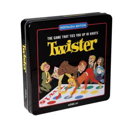 Winning Solutions Twister Nostalgia Tin Game in Twister - Closeouts