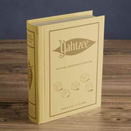 Winning Solutions Yahtzee Vintage Bookshelf Edition Game in Yahtzee - Closeouts