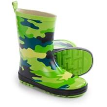 Wippette Rain Boots - Waterproof (For Little Boys) in Gecko - Closeouts