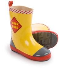 Wippette Rain Boots - Waterproof (For Little Boys) in Pop Yellow - Closeouts