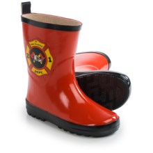 Wippette Rain Boots - Waterproof (For Little Boys) in Red - Closeouts