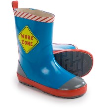 Wippette Rain Boots - Waterproof (For Little Boys) in Royal - Closeouts