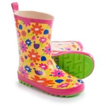Wippette Rain Boots - Waterproof (For Little Girls) in Pop Yellow - Closeouts