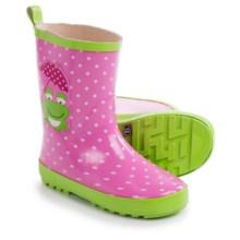 Wippette Rain Boots - Waterproof (For Little Girls) in Sugar Plum - Closeouts