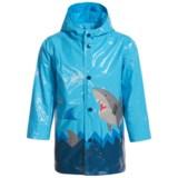 Wippette Shark Hooded Raincoat (For Toddler Boys)