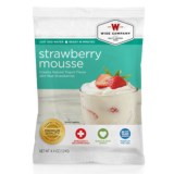 Wise Company Dessert Dish Strawberry Mousse - 4 Servings