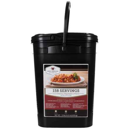 Wise Company The Ultimate Preparedness Solution Food Pack - 158 Servings in See Photo - Closeouts