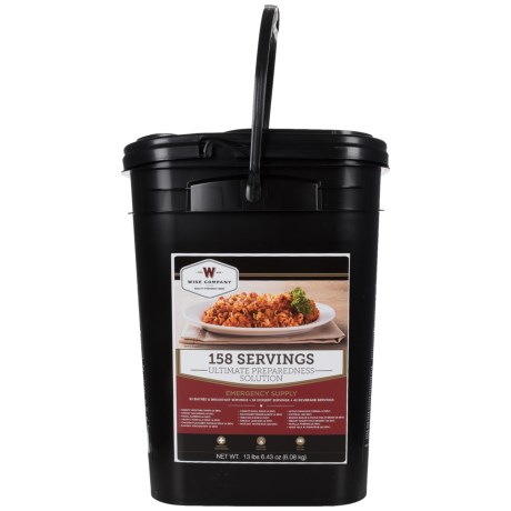 Wise Company The Ultimate Preparedness Solution Food Pack - 158 Servings in See Photo
