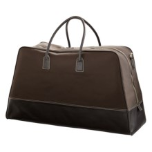 Wisecracker Caravelle Duffel Bag in Brown - Closeouts