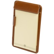 Wisecracker Executive Jotter - Leather in British Tan Harness - Closeouts