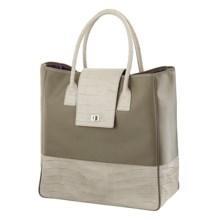 Wisecracker Gitanes Tote Bag in Limestone - Closeouts